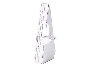 Lineco Easel Backs in White 5 Inch (25 Pack)