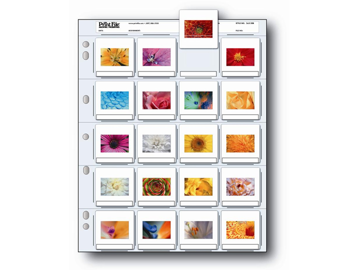 Print File 2x2-20B Slide Preservers (100 Pack)