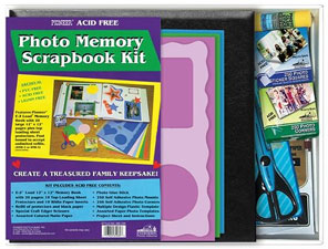 Pioneer MB-10K 12x12 Memory Scrapbook Kit