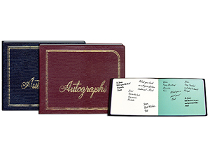 Pioneer Autograph Book
