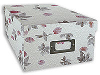 Pioneer Mulberry Paper Photo Storage Box