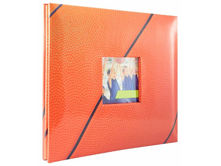 Mbi 8x8 Basketball Scrapbook Embossedgardeniaphotoalbum