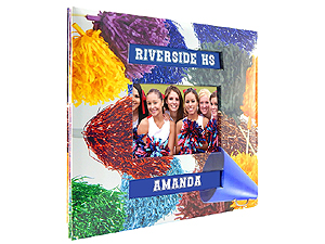 MBI 12x12 Cheerleading Scrapbook