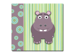 MBI 3D Hippo 12x12 Kids Scrapbook