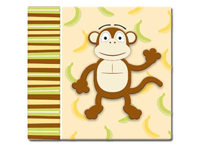 MBI 3D Monkey 12x12 Kids Scrapbook