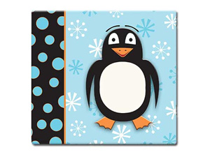 MBI 3D Penguin 12x12 Kids Scrapbook