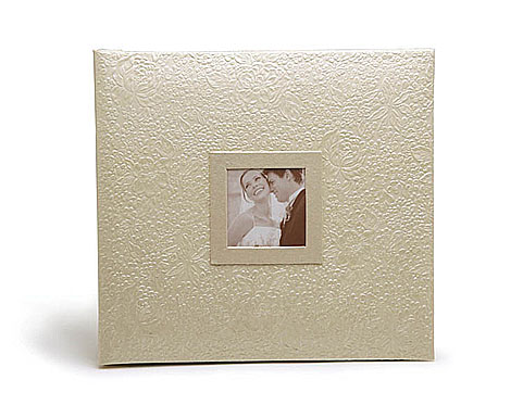 MBI Embossed Gardenia 12x12 Scrapbook