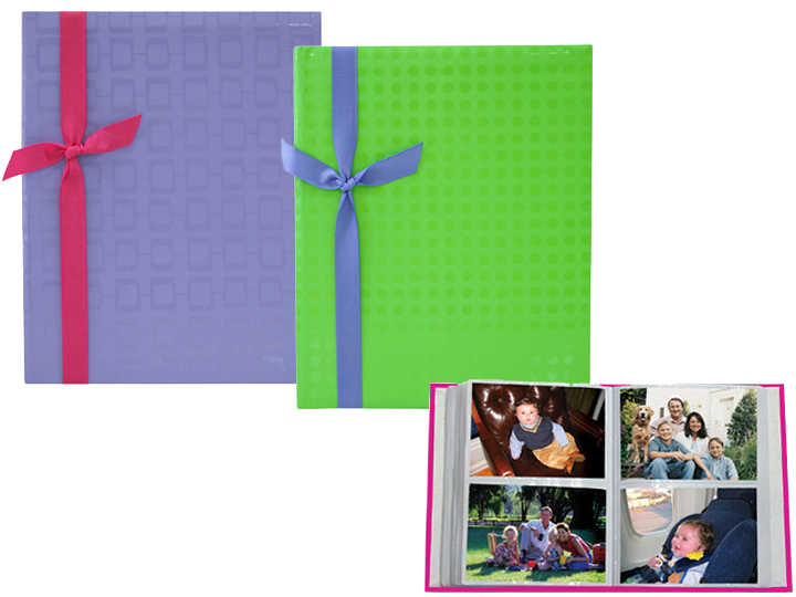 MBI Embossed Brights 2-Up 4x6 Album - Purple