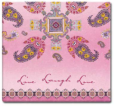 MBI Expressions Live Laugh 12x12 Scrapbook