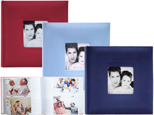 MBI Fashion Fabric 2-Up 4x6 Photo Album - 200 Pkts