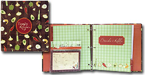 MBI Recipe Scrapbook Kit