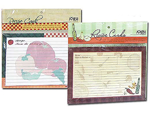 MBI Recipe Cards 5x7 (25)