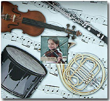 MBI 12x12 Musical Instrument Scrapbook