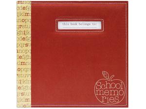 MBI 12x12  Red Apple School Memories Scrapbook