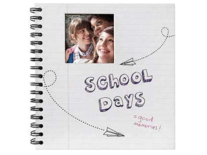 MBI Spiral School Days Photo Album For 4x6