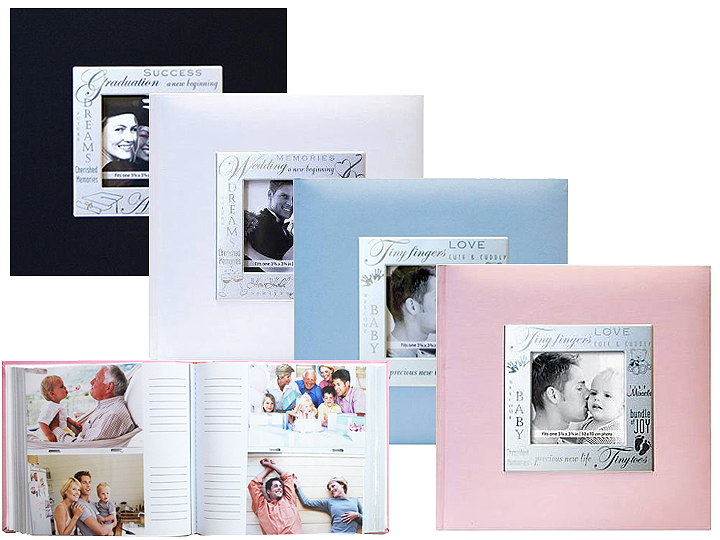 MBI Expressions 4x6 Photo Album Grandchildren Red