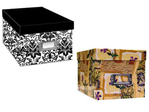 Pioneer Photo CD/DVD Storage Box (Printed Designs)