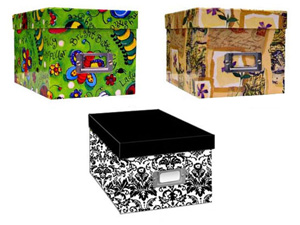 Pioneer Photo CD/DVD Storage Box (Printed Designs)