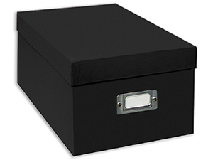 Pioneer Photo CD/DVD Storage Box (Black)