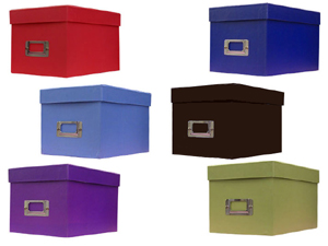 Pioneer Photo CD/DVD Storage Box (Solid Colors)