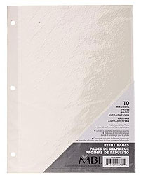 MBI Self Adhesive Magnetic Refill Pages