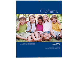 MCS Clip Frame 8-1/2x11