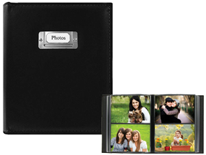 Pioneer CTS-246 4x6 Sewn Photo Album w/Silver ID Plate