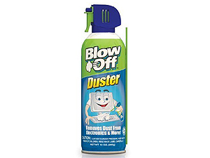 Blow Off Canned Air 10oz. Disposable w/Valve