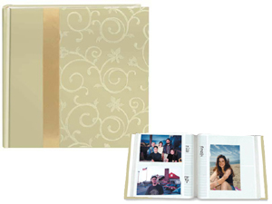 Pioneer DA-200SR Scroll Fabric Ribbon 4x6 Photo Album