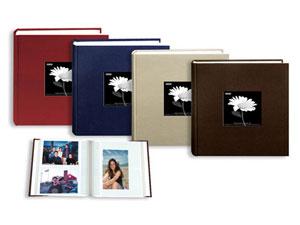 Pioneer DA-200CBFE Cloth Frame Album Earthtones - 200 Pkts