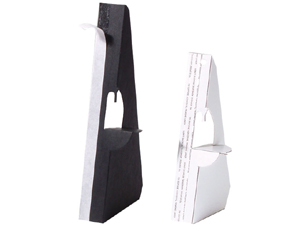Lineco Easel Backs in Black 5 Inch (500 Box)