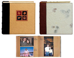 Pioneer ECO-246L Mulberry Paper Photo Album