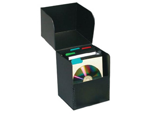 Print File Flipbox CD Storage Box