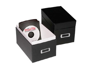 Print File CD Portfolio Box
