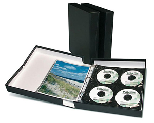 Get Smart Portfolio Box with 3-Ring Binder - 2 Inch