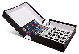Get Smart Portfolio Box with 3-Ring Binder - 3 Inch