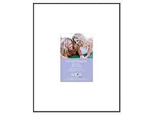 MCS 8x10 Format Museum Frame w/One 3-1/2x5 Mat Opening
