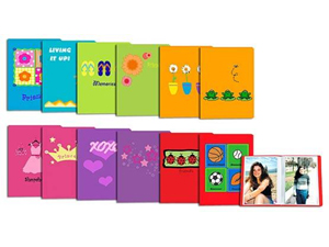 Pioneer I-46 Kids Photo Album - Assorted Covers