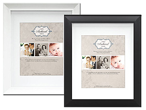 MCS Archival Series Picture Frame 11x14 for 8x10
