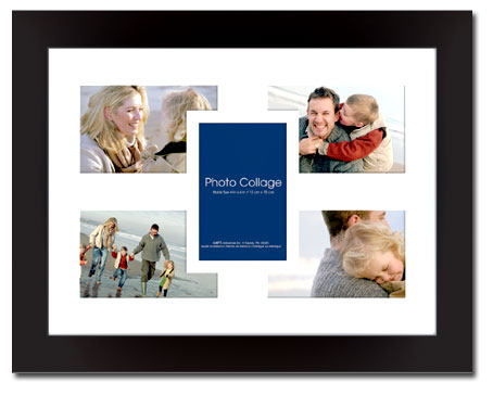 MCS 16x12 Aventura Collage Picture Frame 5 Openings