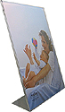 Bent Acrylic Frame 11x14 Single Vertical