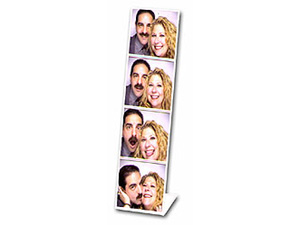Bent Acrylic Photo Booth Frame 2x6 Vertical - (12 Pack)