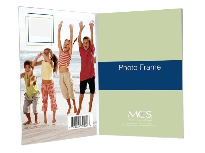 Bent Acrylic Frame 2 1 2x3 1 2 Double Vertical