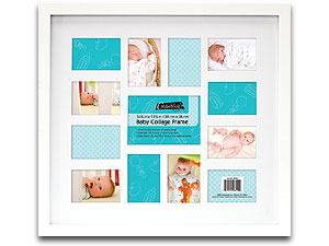 MCS 14.75x13.5 Baby Collage Picture Frame 