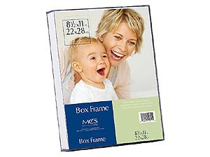 MCS Acrylic Box Frame 8-1/2x11