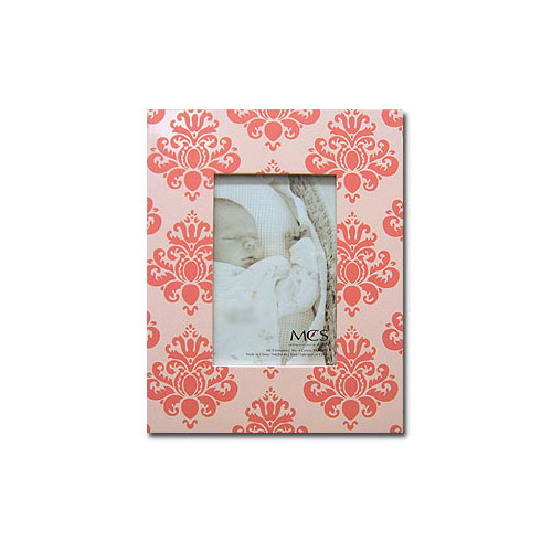 MCS Baby Damask Picture Frame for 5x7 - Pink