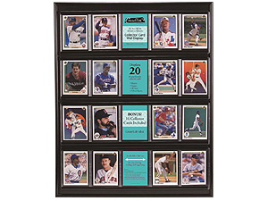 MCS Collector Card Display Case 16x20 Black