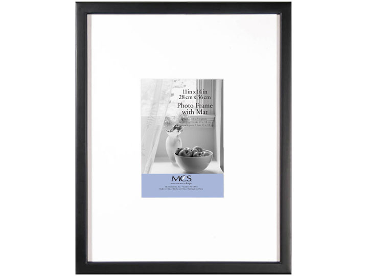 MCS 11x14 East Village Collage Frame with One 5x7 Opening - Taupe