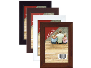 MCS 5x7 Economy Flat Top Picture Frame (3 Pack)