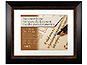 MCS 11x14  Espresso Fairmont  Diploma Frame For 8.5x11